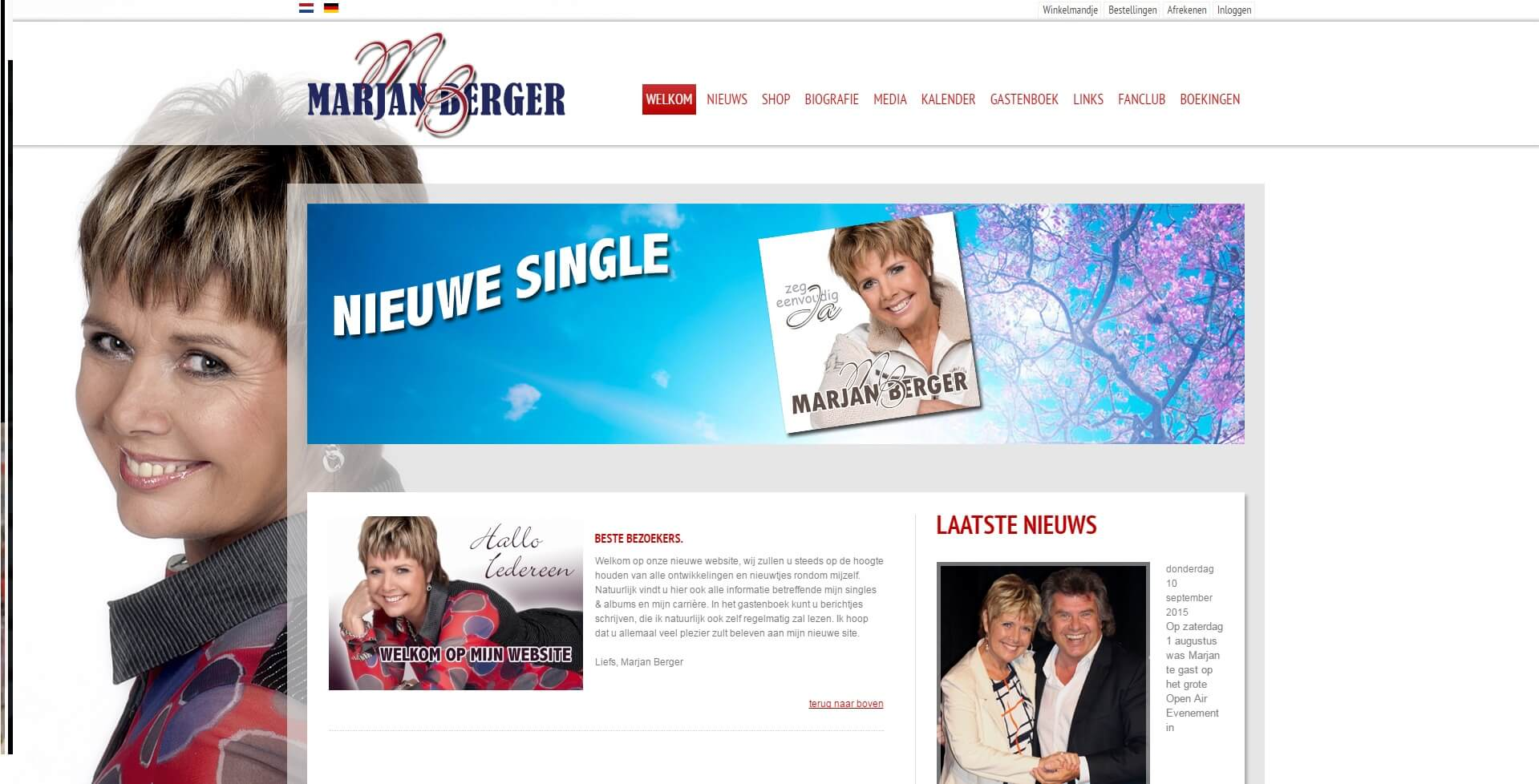 website Marjan Berger