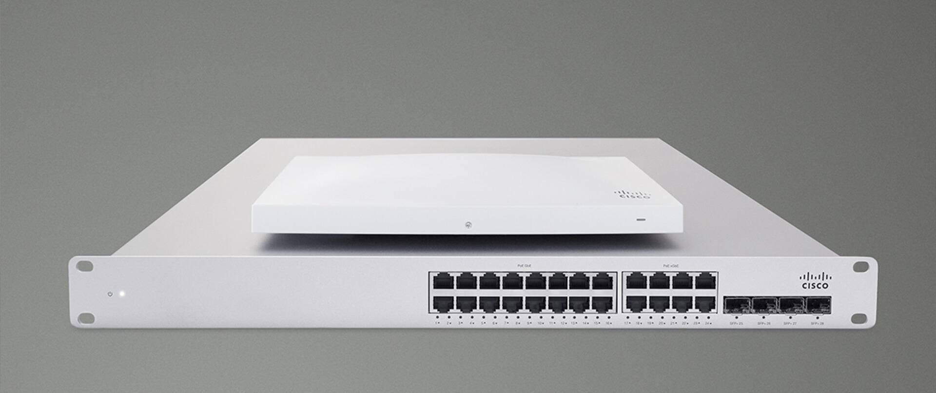 Cisco Cloud managed switch - AP